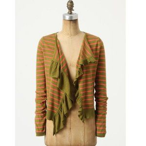 Sparrow Sweater M Traveling Stripes Cardigan